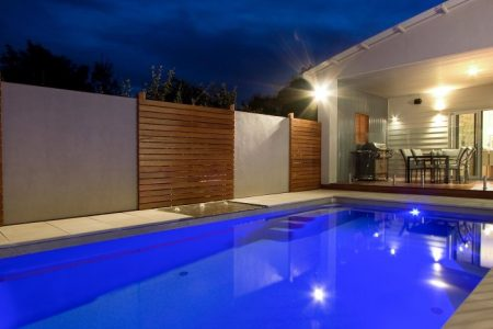 Concrete or fibreglass pool?
